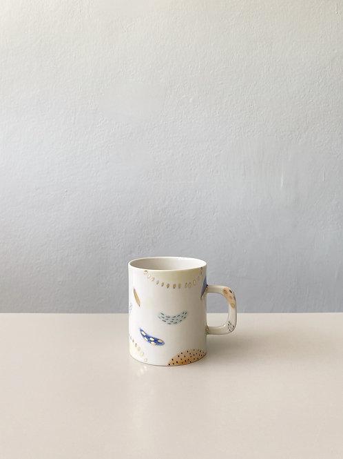 Soyut Kahve Fincanı - Kulplu