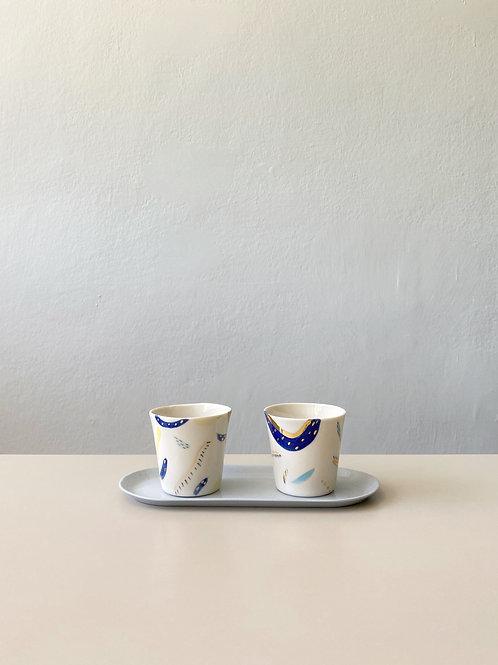 Soyut Espresso 2'li Set