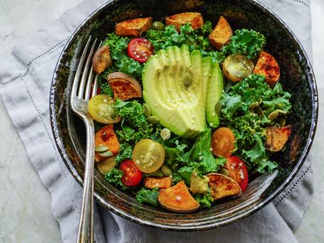 Raw Tuscan Kale Salad