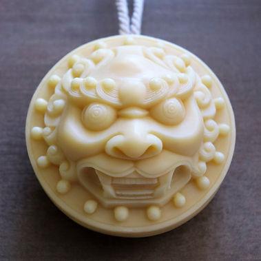 freshface natural soap_lion head_white_s