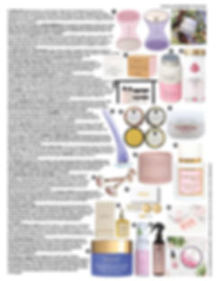 Vogue August 2020 Issue - The Skincare S