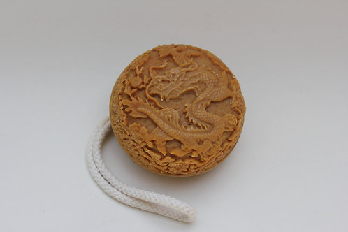 Soap on a rope, DRAGON rose, moisturising, unique, vegan, organic