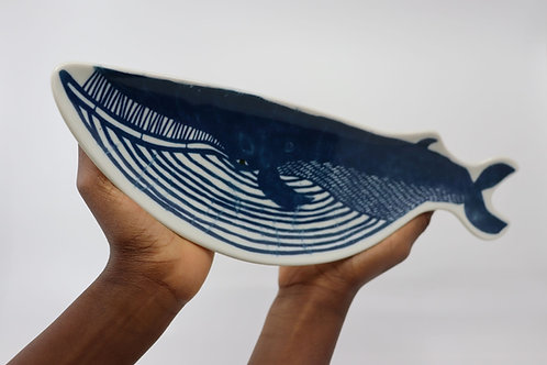 MAMEZARA Whale blue