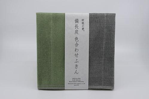 Nawrap Fukin green/grey, binchotan-infused, 6-layered
