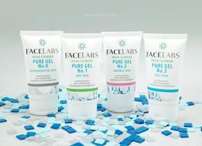 FACELABS Facial Cleanser Pure Gel เจลล้างหน้าใสๆ เพื่อผิวสะอาดใส ใช้ได้แม้ผิวบอบบาง REVIEW by bellyl