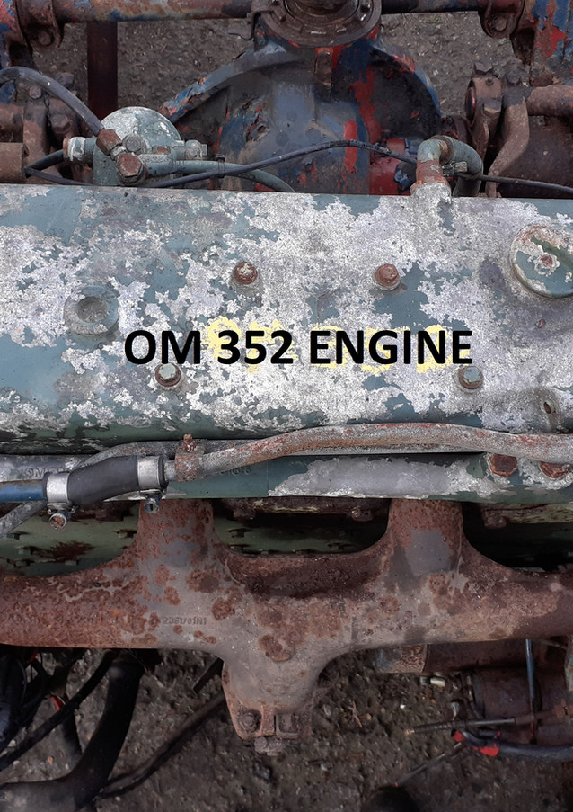 mercedes, om 352, eninge,gearbox, axles, springs