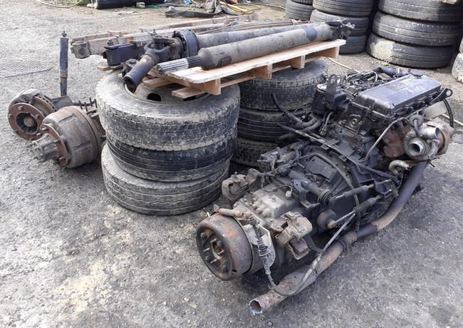 iusuz, 4he1, eninge,gearbox, axles, springs