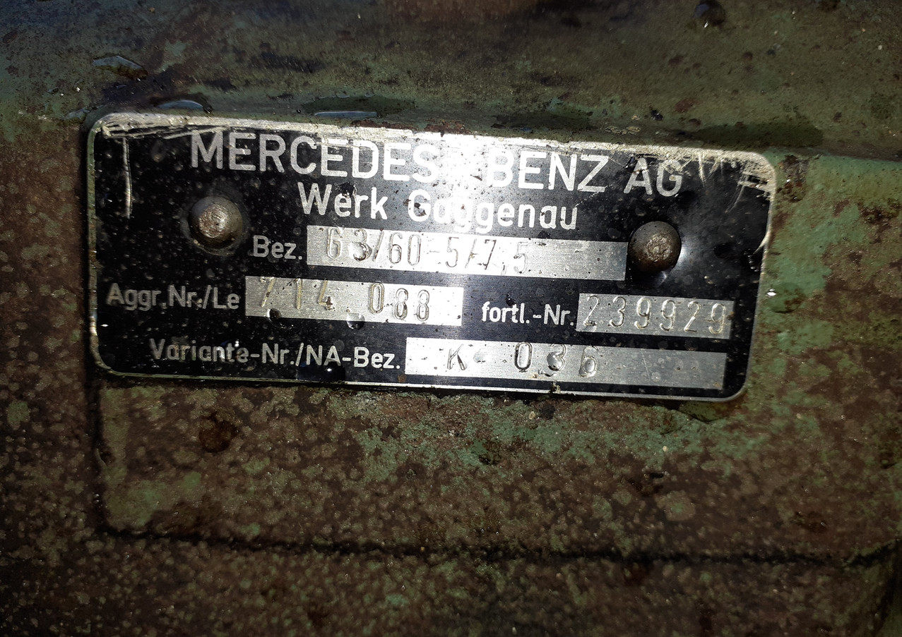 mercedes, om 352, eninge,gearbox, axles, springs
