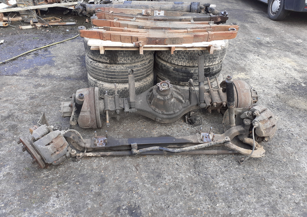 iusuz, 4he1, eninge,gearbox, axles, springs