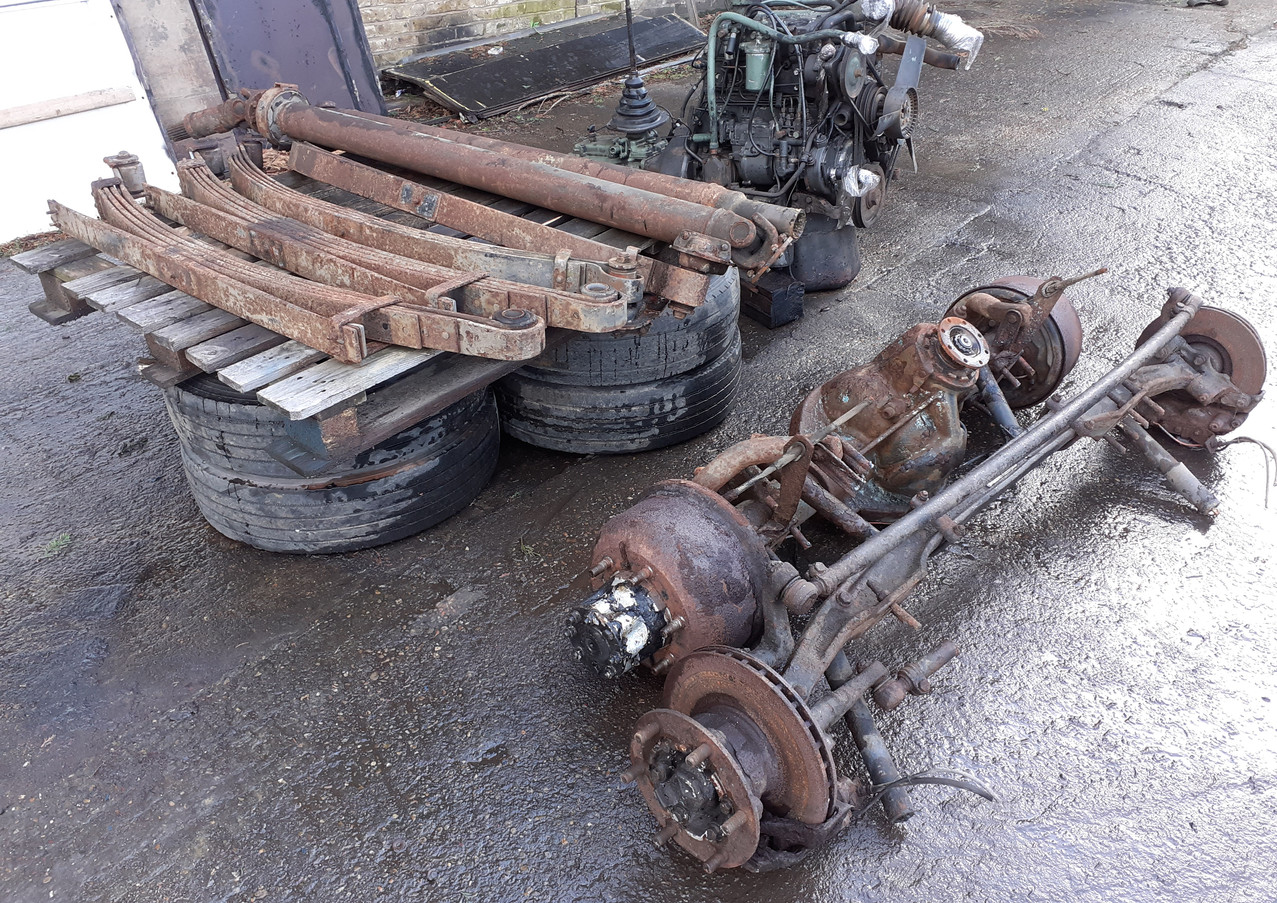 354 eninge,gearbox, axles, springs