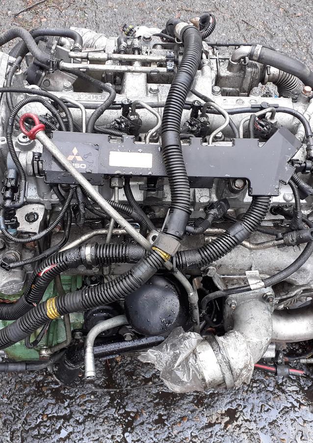 mitsubishi, fuso, 4m42-3at4, eninge,gearbox, axles, springs