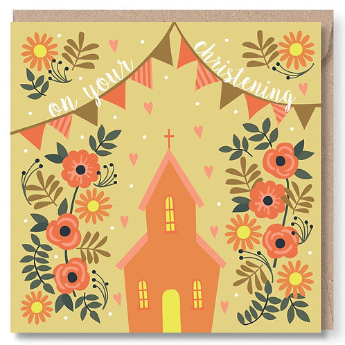 Christening Church and Bunting