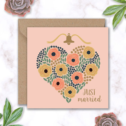 Wedding Heart and Roses