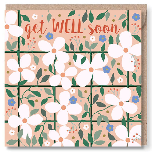 Get Well Clematis and Trellis