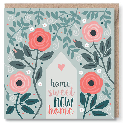 New Home Roses and Swirls