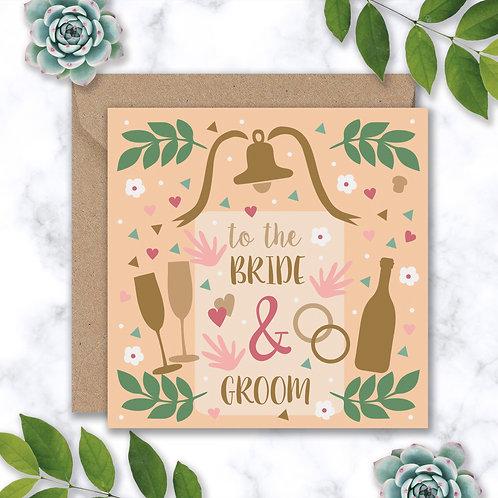 Wedding Confetti and Bubbly