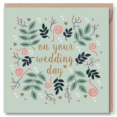 Wedding Leaves And Swirls