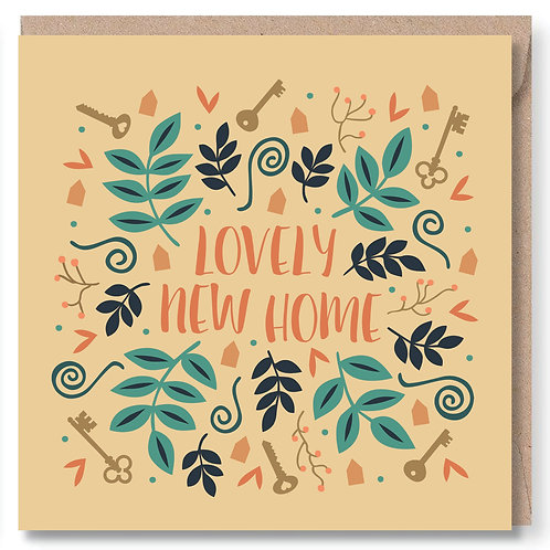 New Home Keys and Swirls