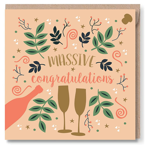 Congrats Bubbly and Swirls
