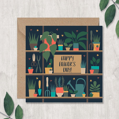 Father's Day Garden Shed Card