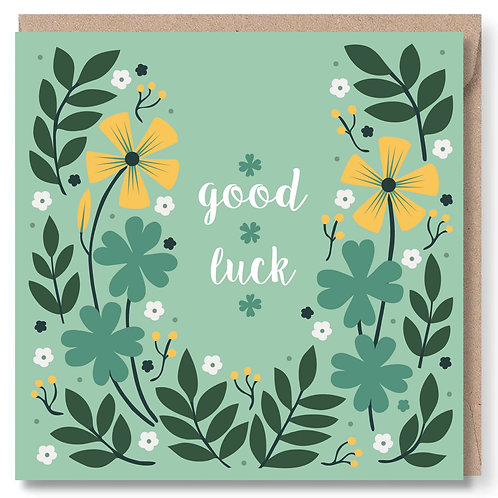 Good Luck Clovers and Leaves