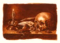 Memento Mori, Watercolor Painting