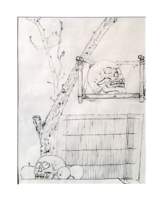 Graphite Drawing, Still life