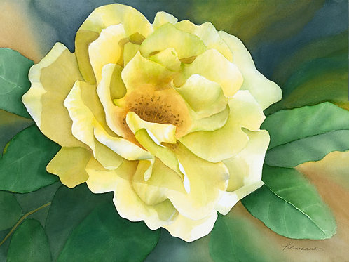 Morning Has Broken Limited Edition Watercolor Giclee Paper Print