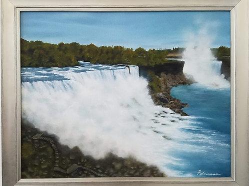 Niagara Framed Original Oil Painting