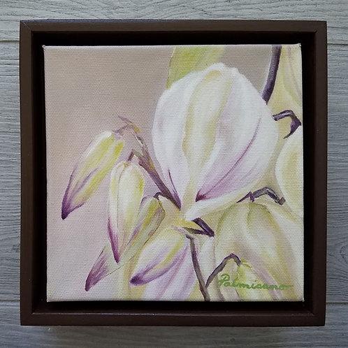 Aloe My Love Framed Original Oil Painting