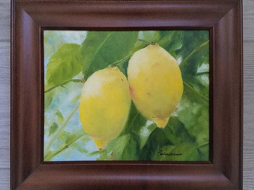 HappyTo Hang Around Framed Original Oil Painting