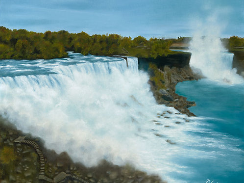Niagara Limited Edition Canvas Giclee