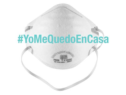 Tomemos conciencia sobre el coronavirus #YoMeQuedoEnCasa