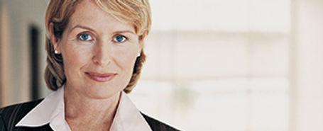 Blond professional woman