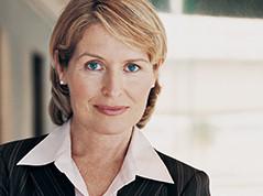 Blond Berufsfrau