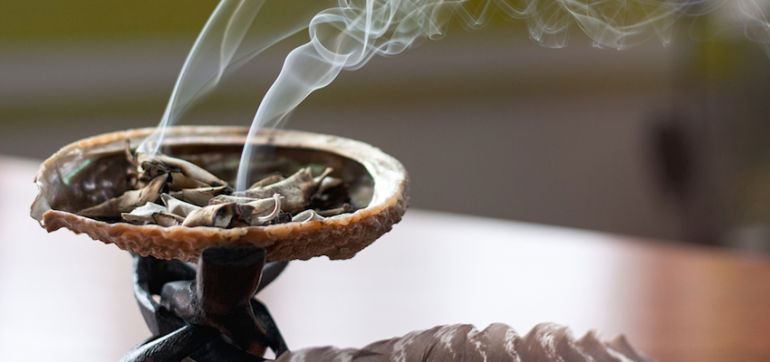Smudging- Personal and Home