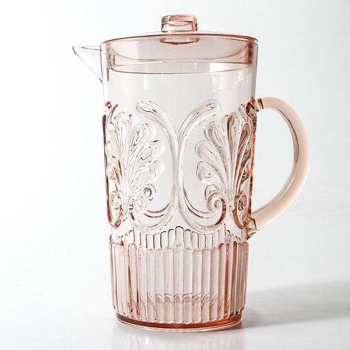 Flemington Acrylic Jug - Pale Pink