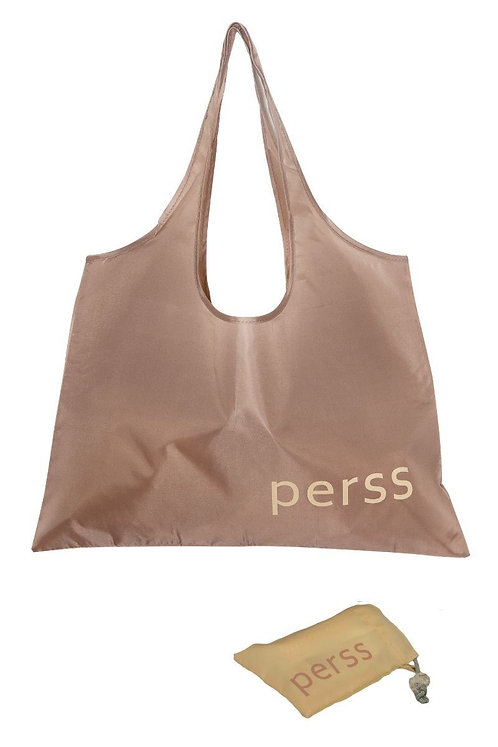 Perss, reusable recyclable shopping bag. The neutral edit - pexkham