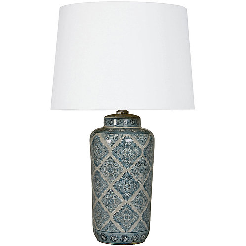 THE MOTIF BLUE LAMP