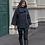 Thumbnail: Tirelli Circular Coat l Black
