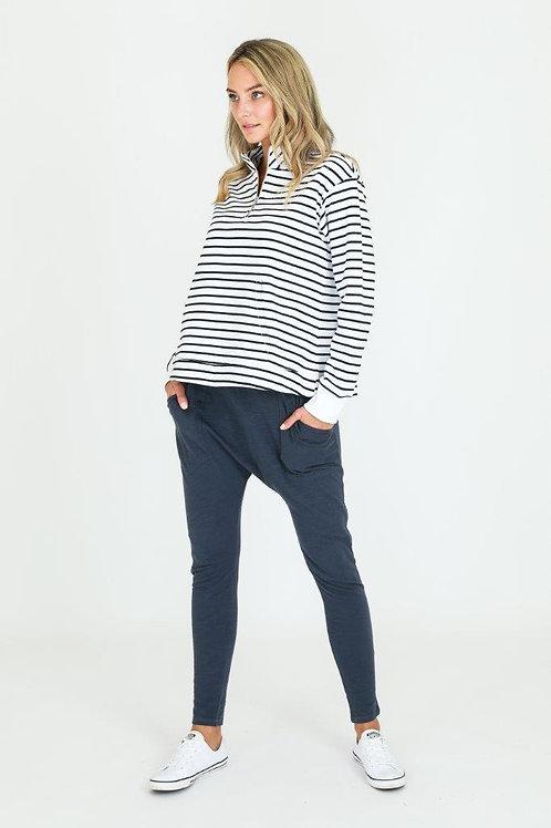 Giana Sweater White Stripe l 3rd Story