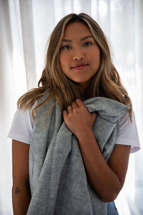 Shawl/scarf - steel