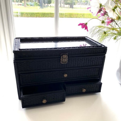 Woven Jewellery Box l Black