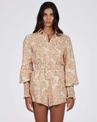 Mellow Playsuit - sweet floral