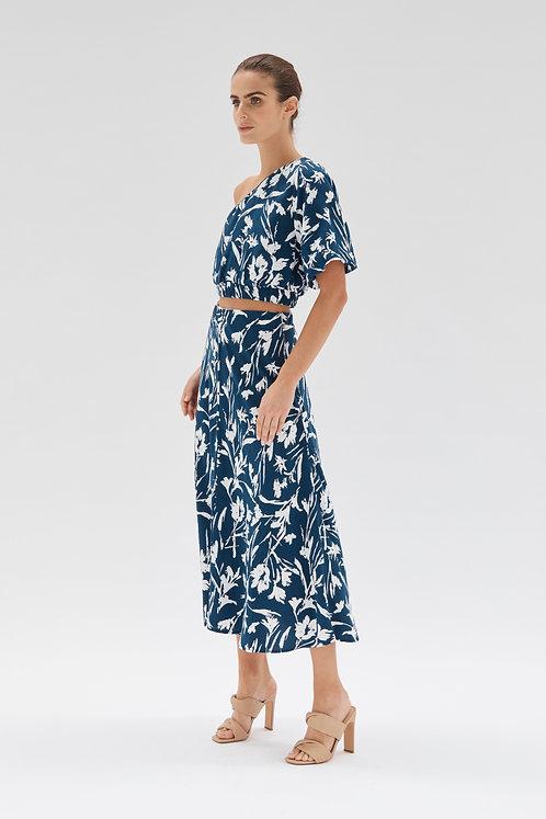 Alma Bias Midi Skirt l Staple the Label