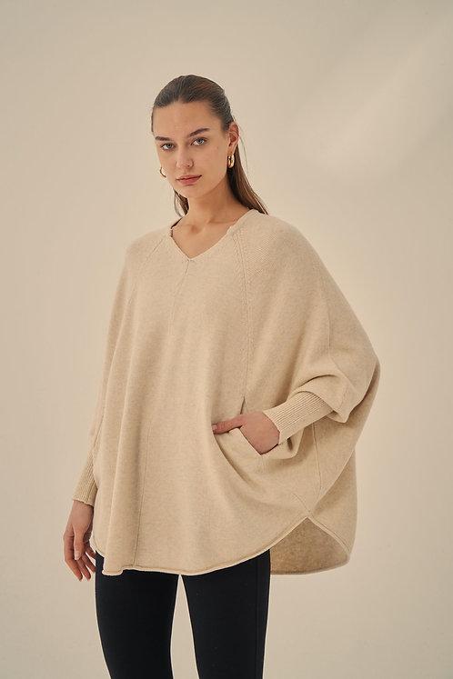 Oversized Pocket Knit