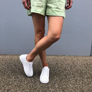 Paradise Sneaker - White (Alfie & Evie)
