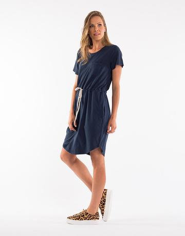 The Harper Dress - Navy