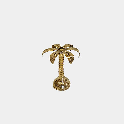 Small Palm Candlestick Holder