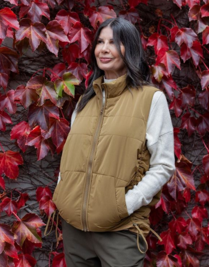Tirelli Padded Rouched Vest l MOSS
